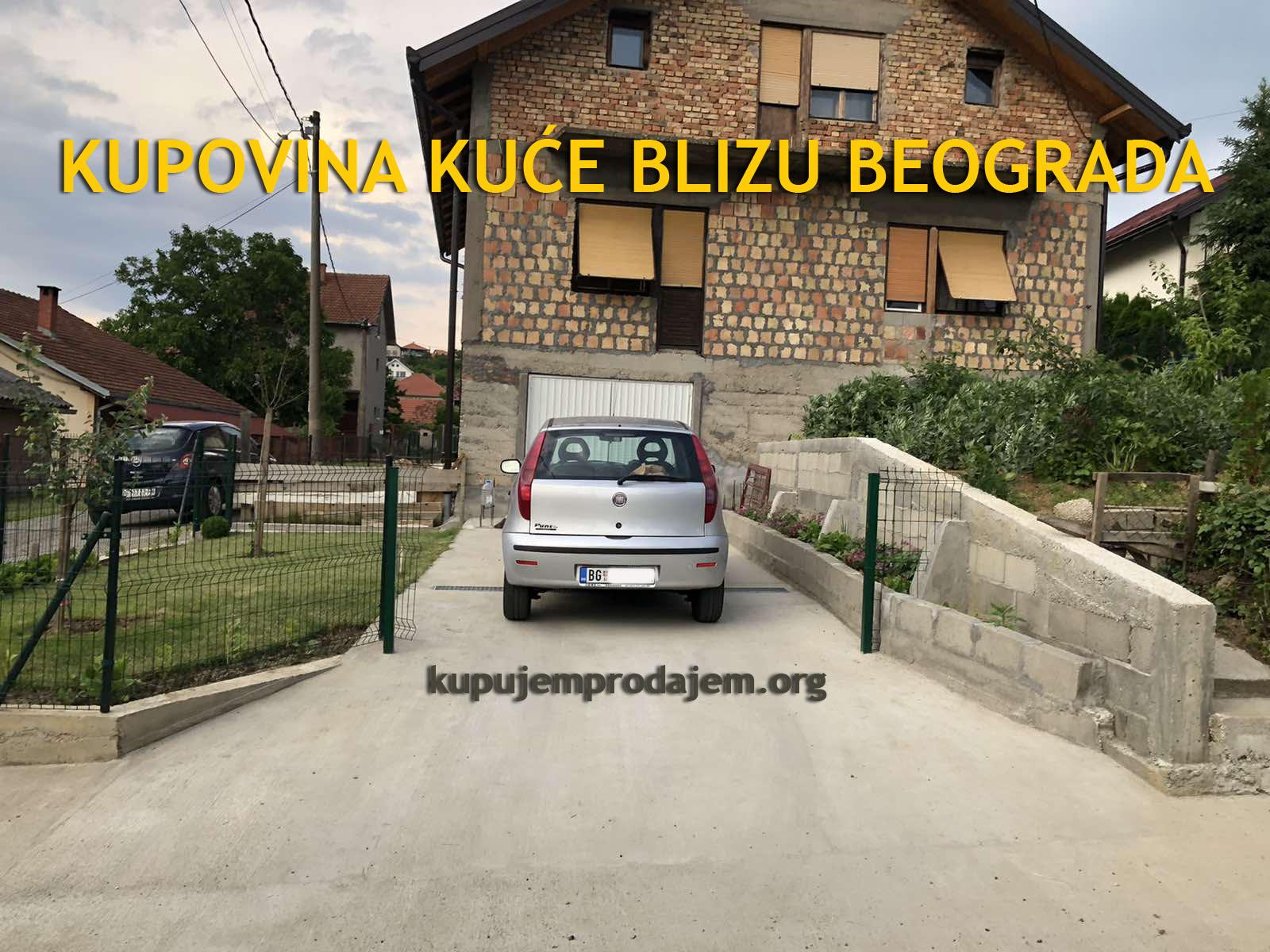Kupovina kuće blizu Beograda