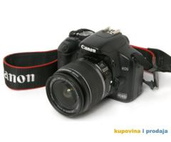 Kupujem polovan fotoaparat Canon EOS 450 D