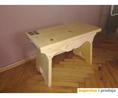 Drvene stolicice