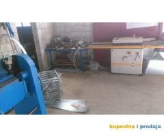 RAS mašina za falcovanje lima i izradu ventilacionih kanala