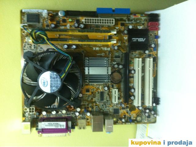 PC konfiguracija MBR Asus + CPU  Intel 775 socket + RAM + HDD - 1