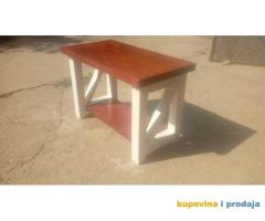 Rustic caffe table