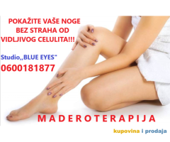 Maderoterapija - anticelulit masaža oklagijama