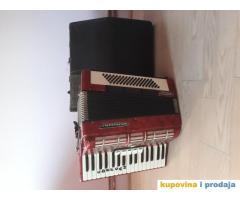 Prodajem harmoniku Weltmeister 80 basova - kupujemprodajem | kupujem, prodajem