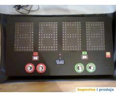 elektronski semafor za izmenu igrača