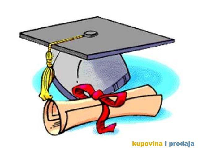 Maturski radovi (srednje škole i gimnazije)