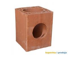 KUPUJEM ventilacioni blok sa 2 rupe i šamotnu cev (Beograd+Obrenovac)