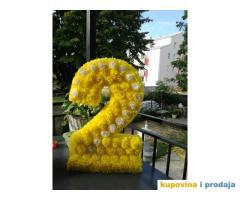 ukrasni brojevi za slatki sto