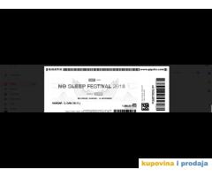 NO SLEEP FESTIVAL, 16.11. prodajem dve karte