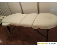 Prodajem sto za masažu MASTER PRO ovalni produženi model