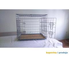 Žičani transporter - kavez za psa