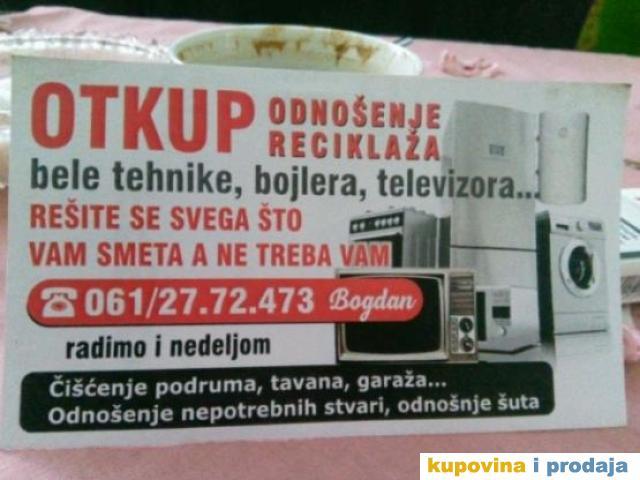 otkup bele tehnike bg/ novi bg/ zemun/