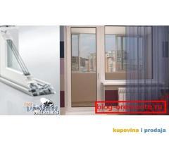 PVC Vrata Staklena i Prozor 3 Komorna Argon - Al Roletne Kljuc Ulazna Full Staklo