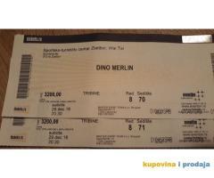 Karte za koncert Dina Marlina, Zlatibor