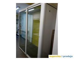 PVC vitrina za čuvanje cveća u cvećarama