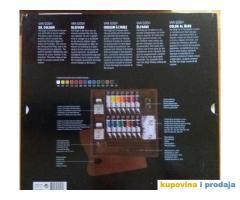 Na prodaju set uljanih boja