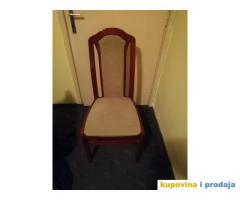 Na prodaju šest stolica