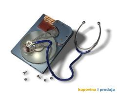 Spašavanje podataka sa oštećenih ili pokvarenih hard diskova, sa logičkim ili fizičkim problemima