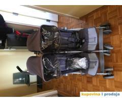 kolica za blizance maclaren twin techno