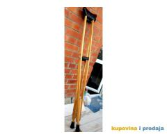 Podpazusne stake nove 130 cm drvene