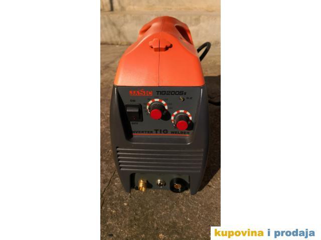 Aparat za zavarivanje Jasic TIG-200SII 200 Ampera sa bocom sa gasom