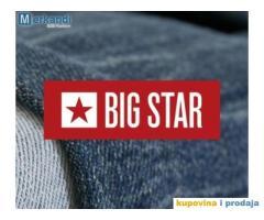 Zalihe nove odjeće BIG STAR veleprodajne cijene - POSEBNA PONUDA -