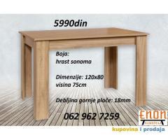 Trpezarijski stolovi, proizvođačke cene