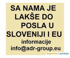 Posao u Sloveniji, različiti poslovi