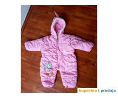 Zimski kombinezon za bebe