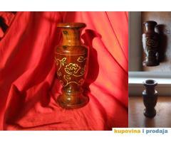 Ukrasna drvena vaza
