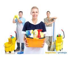 Potrebno vise radnica i radnika za poslove generalnog ciscenja