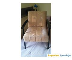 Prodajem dve reparirane fotelje iz 60tih