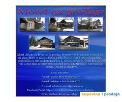 "Motel ""Konak"" na Brezovici na prodaju"