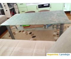Set trpezarijski sto i stolice, klub sto