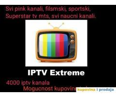 IPTV TELEVIZIJA ZA ANDROID BOX TABLET PC 4000 KANALA 2 DANA BESPLATNO