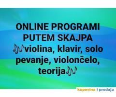 Online program putem skajpa