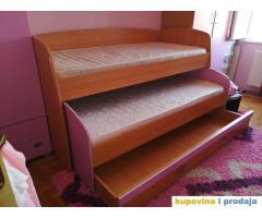 Krevet dupli sa fijokom i dušecima