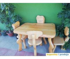 Etno sto i stolice