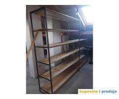 Police za garažu, podrum ili ostavu
