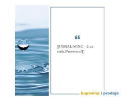 CORAL-MINE – živa voda. Provereno!