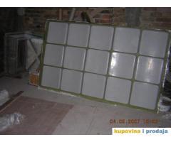 Izrada sedišta za tribine (poliester, stakloplastika)