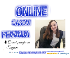ONLINE CASOVI PEVANJA sa Sanjom Trifunovic