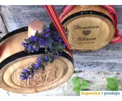 Izrada hrastovih drvenih ČUTURA sa gravurom po želji