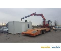 Rentiranje montažnih kontejnera