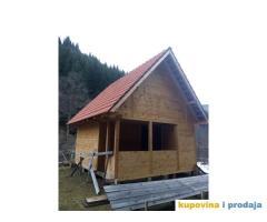 Izrada i prodaja drvenih brvnara-vikendica Golija