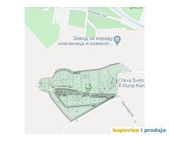 Ustupam grobno mesto Topcidersko groblje Beograd Hitno