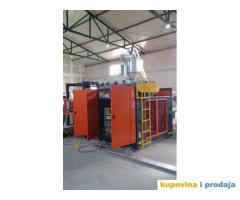 Mašina duvaljka za proizvodnju plastičnih loptica + kompletna prateća oprema