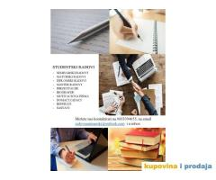 Seminarski, maturski radovi, prezentacije, eseji, diplomski - pouzdano i povoljno