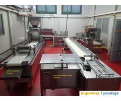 Linija za proizvodnju vafel keksa / napolitanki