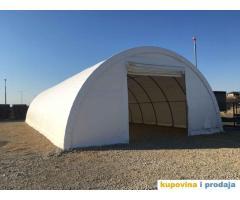 Montažni magacin,  montažna hala, industrijski šator